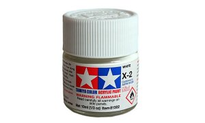 Tamiya Model Paint 10ml Jar - White #1167