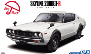 1:24 Scale Nissan KPGC110 Skyline HT2000GT-R '73 Model Kit #15