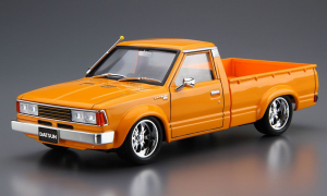 1:24 Scale Aoshima 720 Datsun Truck Custom 1982 Model Kit #1290p