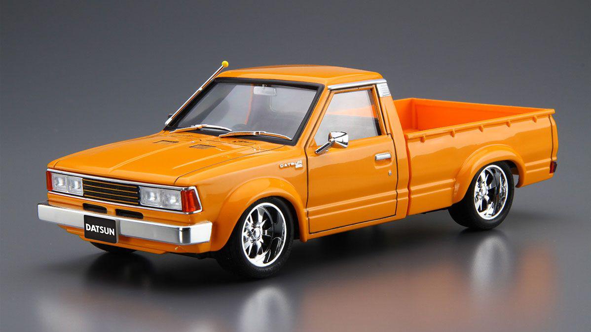 1 24 scale 720 datsun truck custom 82 39 model kit kent models