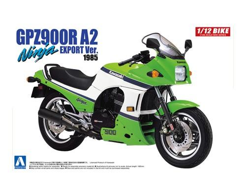 1:12 Scale Kawasaki GPZ900R Ninja A2 Model Kit #393p