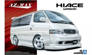 1:24 Scale Toyota Hiace Azmax KZH100 1999 Model Kit #149
