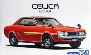 1:24 Scale Toyota Celica 1600GT TA22 '72 Model Kit #36