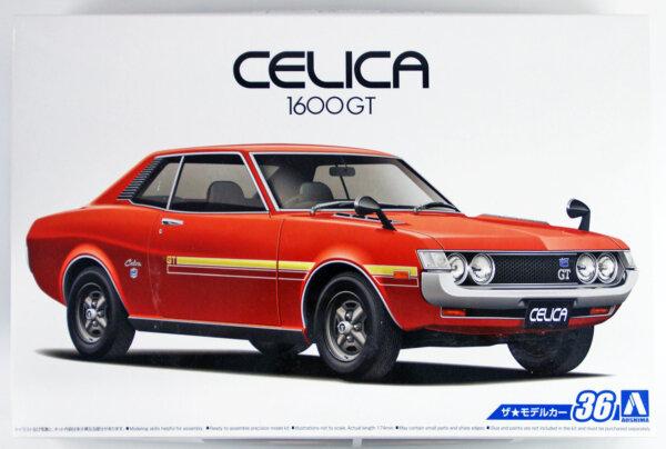 1:24 Scale Toyota Celica 1600GT TA22  '72 Model Kit #36