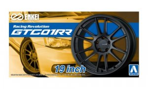 1:24 Scale Enkei GTC01RR 19 Inch Wheels & Tyres Set #239