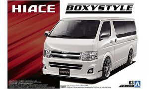 1:24 Scale Toyota Hiace Boxystyle TRH200V Super GL '10 Model Kit #127