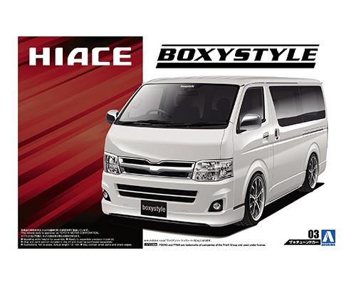 1:24 Scale Toyota Hiace Boxystyle TRH200V Super GL '10 Model Kit #127p