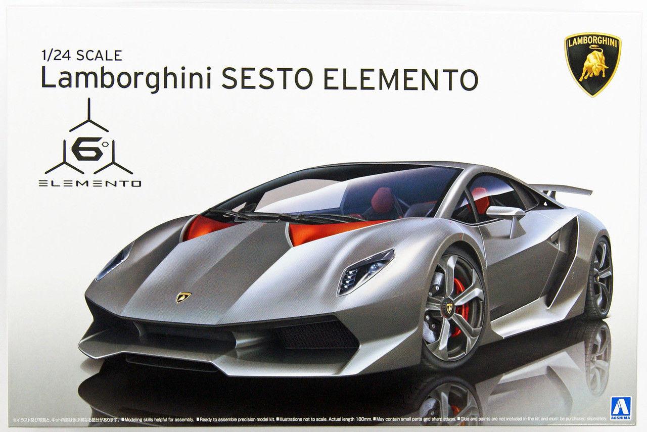 1 24 Scale Lamborghini Sesto Elemento Model Kit Kent Models