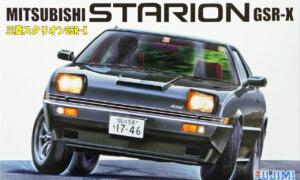 1:24 Scale Mitsubishi Starion GSR-X Model Kit #654
