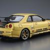 1:24 Scale Aoshima Nissan Skyline R34 GTR Top Secret BNR34 Model Kit #139p