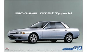 1:24 Scale Nissan Skyline GTS-T Type M R32 HCR32 Model Kit #32