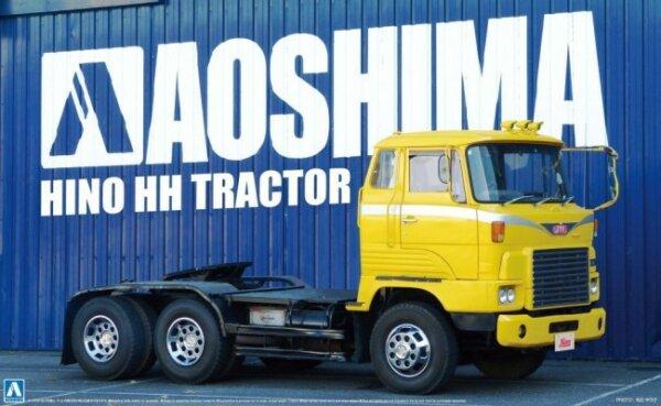 1:32 Scale Aoshima Hino HH Tractor Head Model Kit