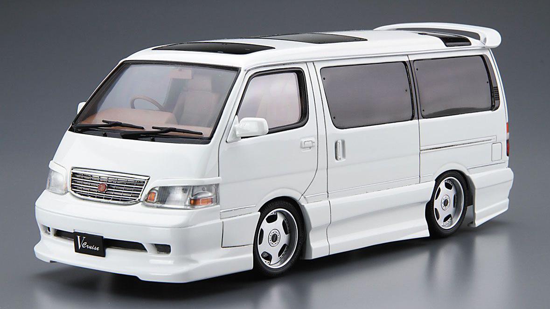 1 24 Scale Toyota Hiace Azmax Kzh100 99 Model Kit Kent