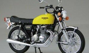 1:12 Scale Aoshima Honda CB400 Four-I/II  Model Kit #380p