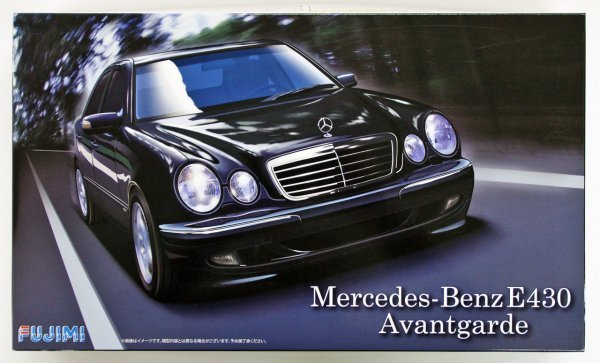 1:24 Scale Fujimi Mercedes-Benz E430 Avantgarde Model Kit #835