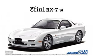 1:24 Scale Mazda RX7 FD3S 1996 Model Kit #07p