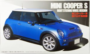 1:24 Scale Mini Cooper S Model Kit #1070
