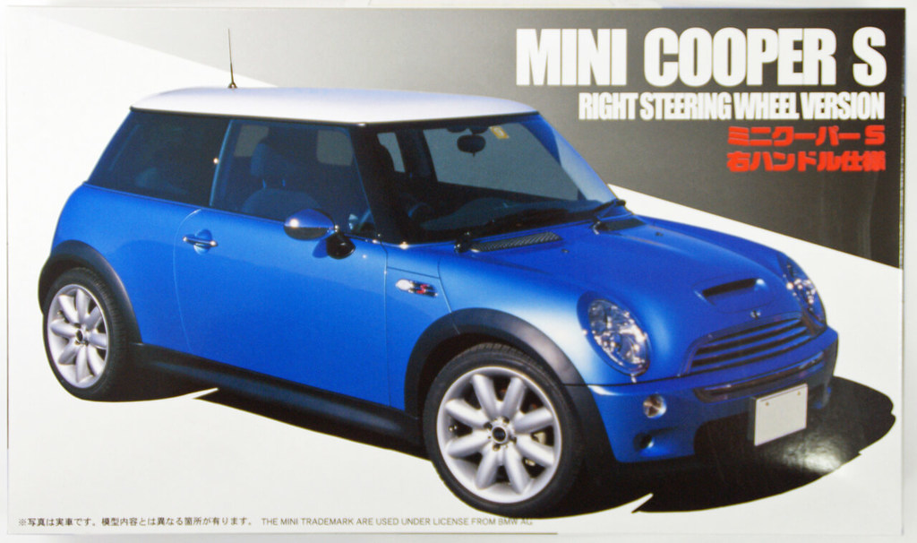 Mini Cooper Models >> 1 24 Scale Mini Cooper S Model Kit 1070