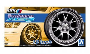 1:24 Scale SSR Professor MS3 19 Inch Wheel & Tyres Set #219