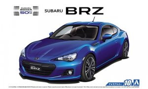1:24 Scale Aoshima Subaru BRZ ZC6 2012 Model Kit #10