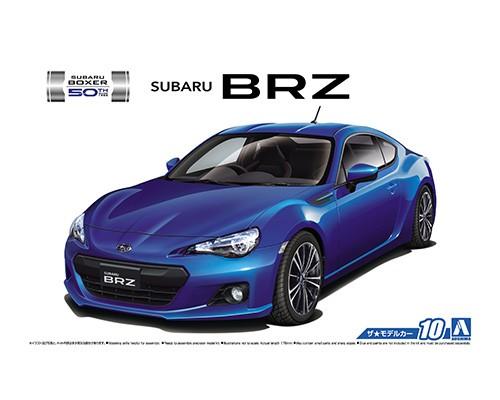 1:24 Scale Aoshima Subaru BRZ ZC6 2012 Model Kit #10