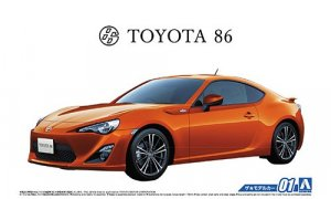 1:24 Scale Toyota GT86 ZN6 2012 Model Kit #01