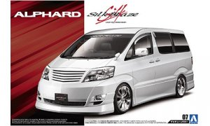1:24 Scale Toyota Alphard Silk Blaze 2005 Model Kit #131p