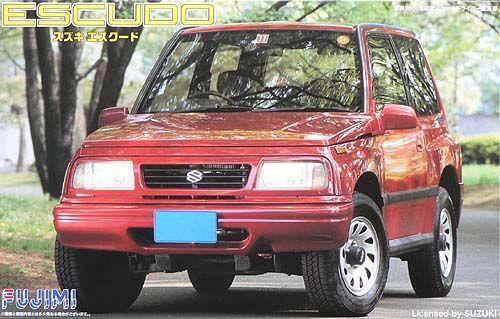 1:24 Scale Fujimi Suzuki Vitara Escudo 1994 Model Kit #609p