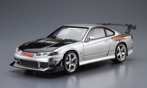 1/24 Scale Aoshima Nissan Silvia S15 Top Secret 1999 Model Kit #148p