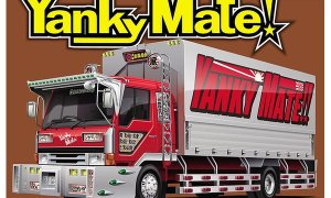 1:32 Scale Dekotora Yanky Mate Truck Model Kit #504p