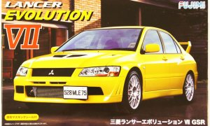 1:24 Scale Mitsubishi Lancer Evo 7 VII GSR Model Kit #715