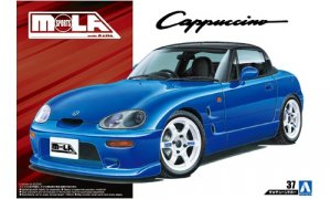 1:24 Scale Suzuki Cappuccino MOLA Sports EA11R Model Kit #161