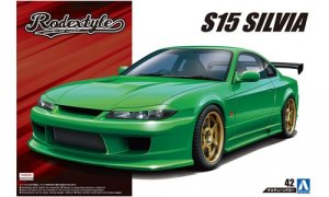 1:24 Rodex Style Nissan S15 Model Kit #166p