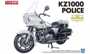 1:12 Scale Kawasaki KZ1000 POLICE BIKE Model Kit #404