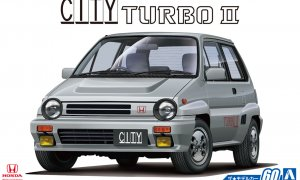 1:24 Scale Honda AA CITY TURBO II Model Kit #59