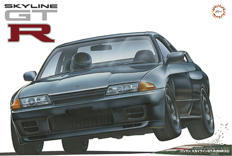 1:12 Scale Fujimi MASSIVE Nissan Skyline R32 GTR Model Kit #1027