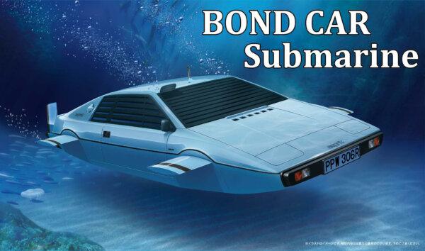1:24 Scale Fujimi BOND CAR SUBMARINE Lotus Esprit Model Kit #767p