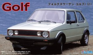 1:24 Scale Fujimi Volkswagen Golf Mk.1 GTI Model Kit #818p
