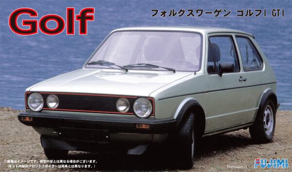 1:24 Scale Volkswagen Golf Mk.1 GTI Model Kit #818