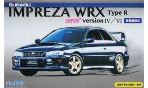 1:24 Scale Fujimi Subaru Impreza WRX Type R STI GC8 Model Kit #636