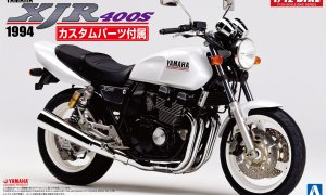 1:12 Scale Yamaha XJR400S With Custom Parts Model Kit #385