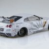 1:24 Scale Aoshima Liberty Walk R35 GTR V2 White Model Kit #327p