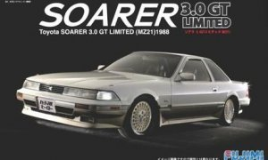 1:24 Scale Toyota Soarer 3.0GT MZ21 Model Kit #548