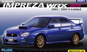 1:24 Scale Fujimi Subaru Impreza WRX Type R STI GDB Model Kit #640