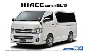 1:24 Scale Toyota Hiace GL TRH200V SUPER 2010 Model Kit #06