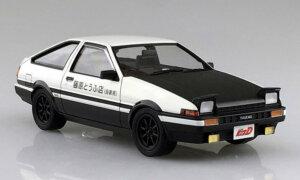 1:24 Scale Aoshima Initial D Takumi Fujiwara Toyota AE86 Sprinter Trueno Comics VOL.1 Model Kit #418p