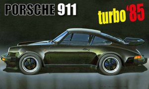 1:24 Scale Fujimi Porsche 911 Turbo '85 Model Kit #820p