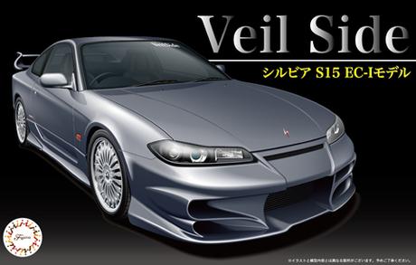 1:24 Scale Nissan S15 Silvia VEILSIDE Model Kit #663p