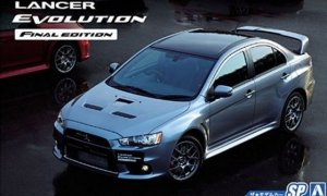 1:24 Scale Mitsubishi Lancer Evolution X CZ4A Final Edition Model Kit #114