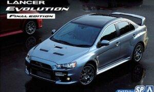 1:24 Scale Mitsubishi Lancer Evolution X CZ4A Final Edition Model Kit #114
